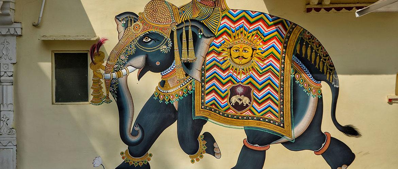 Elefant-Mogul-Graffiti