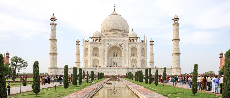 Diashow Indien-Schmuckkunst Taj-Mahal Symbolbild