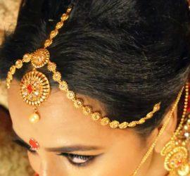 Indischer Hochzeits Kopf Schmuck