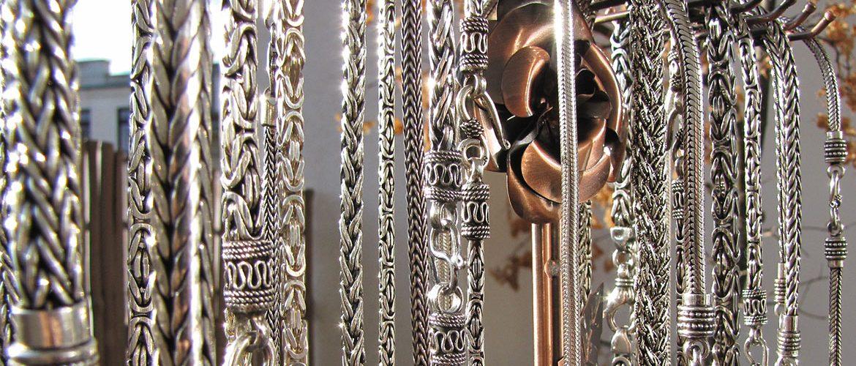 Koenigsketten-Indien-Schmuckkunst-Silberketten