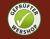Prüfsigel- Geprüfter Webshop - für Onlineshop Indien-Schmuckkunst