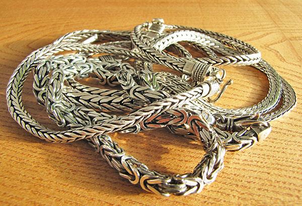 Silberketten-Silberschmuck-Edles-Silber