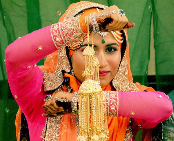 Traditioneller indischer Schmuck